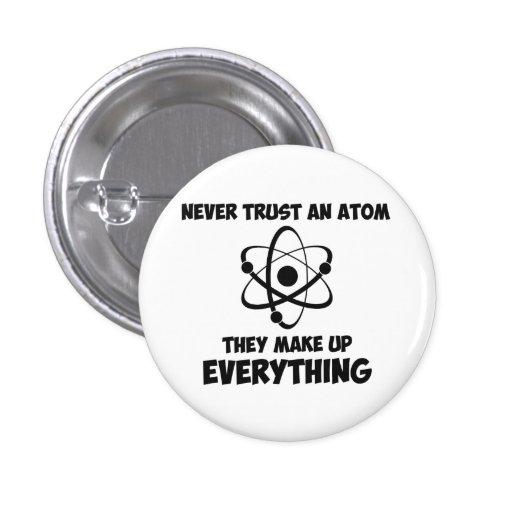 Nunca confíe en un átomo pin