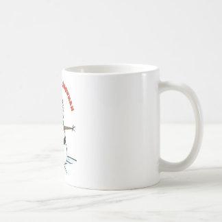 Nunca confíe en un muñeco de nieve taza de café