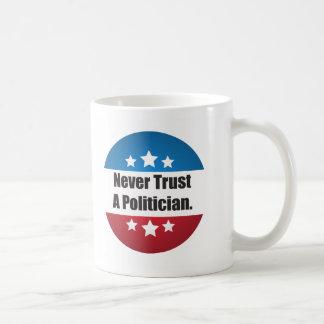 Nunca confíe en una taza del político