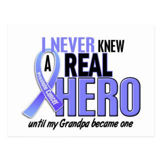 Nunca conocía a un cáncer de próstata del abuelo tarjeta postal