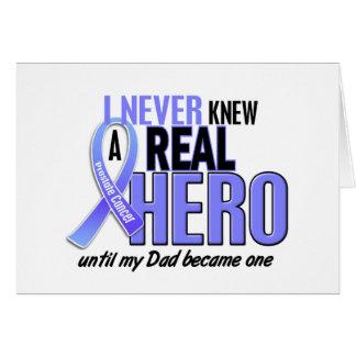 Nunca conocía a un cáncer de próstata del papá del tarjeta de felicitación