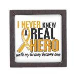 Nunca conocía a un cáncer del apéndice de la abuel caja de joyas de calidad
