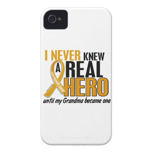 Nunca conocía a un cáncer del apéndice de la iPhone 4 Case-Mate cárcasas