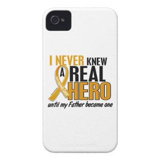 Nunca conocía a un cáncer del apéndice del padre carcasa para iPhone 4 de Case-Mate