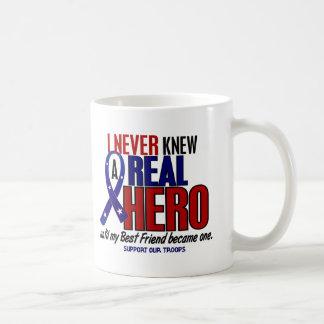 Nunca conocía a un mejor amigo del héroe 2 (apoye taza básica blanca
