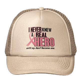 Nunca conocía a una TÍA real del héroe (el cáncer  Gorras