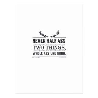 Nunca cosas del Mitad-Asno dos, cosa del Entero-As Tarjetas Postales