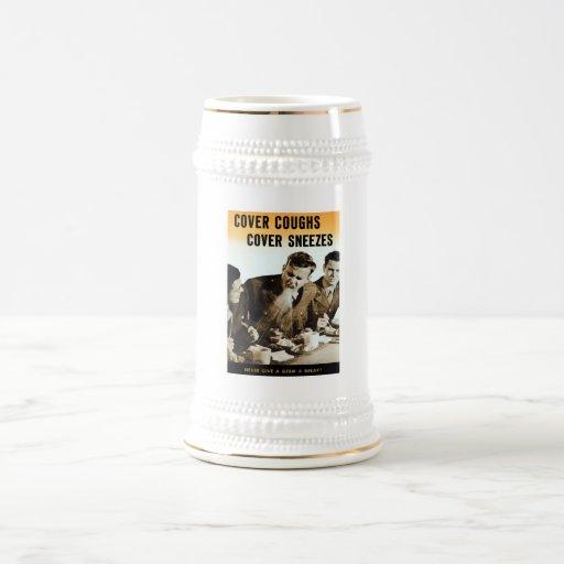 Nunca dé a germen una rotura -- WWII Jarra De Cerveza