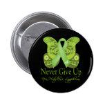 Nunca dé para arriba - a mariposa el linfoma Non-H Pin
