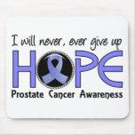 Nunca dé para arriba al cáncer de próstata de la e tapete de ratones
