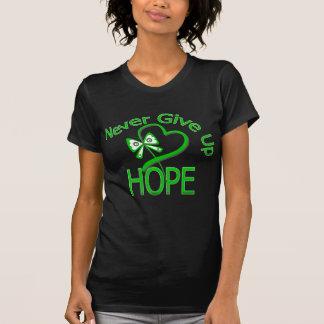 Nunca dé para arriba al cáncer del riñón de la esp camisetas