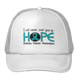 Nunca dé para arriba al cáncer ovárico de la esper gorras de camionero