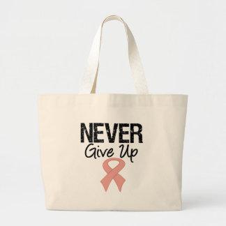 Nunca dé para arriba (el cáncer uterino) bolsas de mano