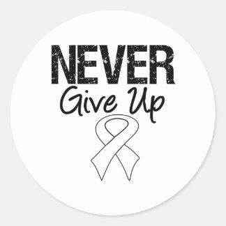 Nunca dé para arriba la cinta (el cáncer de pegatina redonda