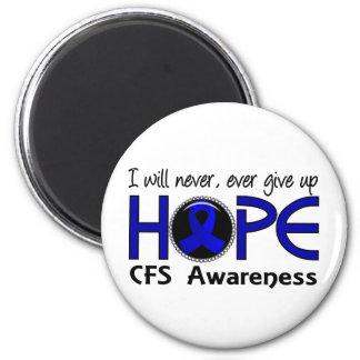 Nunca dé para arriba la esperanza 5 CFS Imán Redondo 5 Cm