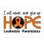 Nunca dé para arriba la leucemia de la esperanza 5 postales
