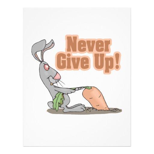 nunca dé para arriba la zanahoria que da un tirón  tarjetas publicitarias