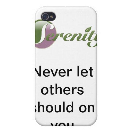 Nunca deje otros si en usted iPhone 4 fundas