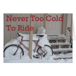 Nunca demasiado frío montar la tarjeta