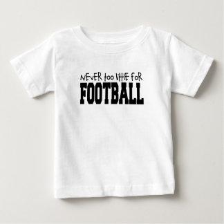 Nunca demasiado poco para el fútbol playeras