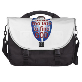 Nunca demasiado tarde bolsas para portatil