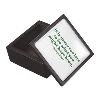 Nunca demasiado tarde Giftbox superior