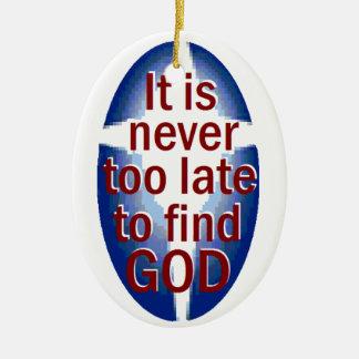 Nunca demasiado tarde ornato