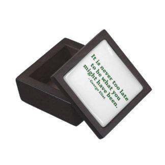 Nunca demasiado tarde pequeño Giftbox