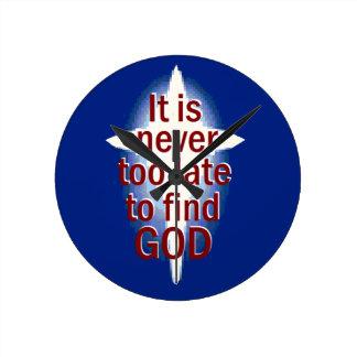 Nunca demasiado tarde reloj