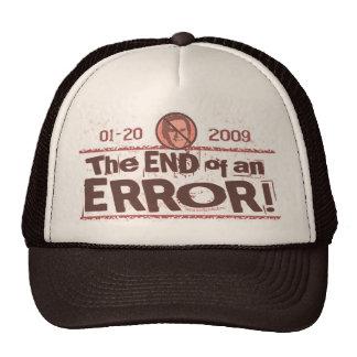 Nunca el presidente peor Anti Bush Gear Gorros Bordados