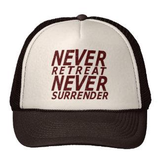 Nunca entregúese gorra