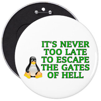 Nunca es demasiado atrasado escapar las puertas de pin