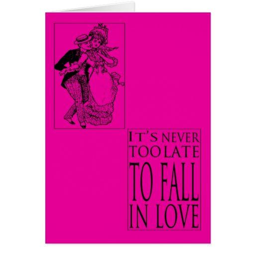 Nunca es tarjeta del día de San Valentín demasiado