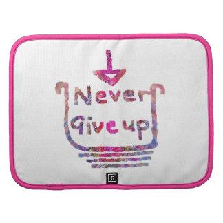 Nunca giveup - presentación de motivación artístic organizadores