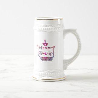 Nunca Giveup - presention de motivación artístico Tazas De Café