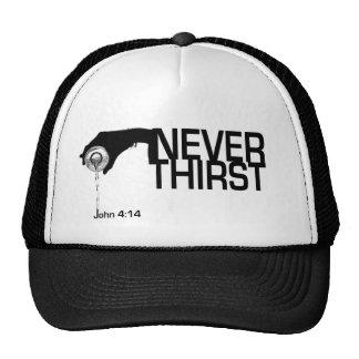 Nunca gorra de la sed