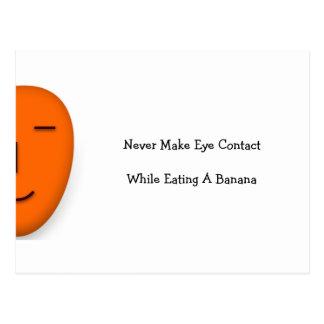 Nunca haga el ojo… - Envíe una sonrisa - postal di