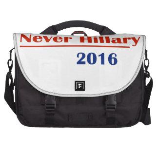 Nunca Hillary 2016 Bolsa Para Ordenador