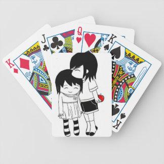 nunca le deja ir baraja de cartas