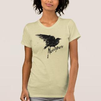 Nunca más camiseta del cuervo