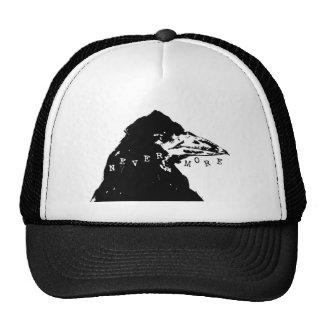 Nunca más cuervo de Edgar Allan Poe Gorras De Camionero