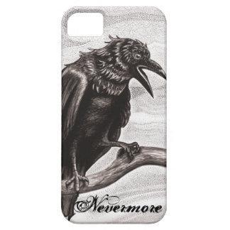 Nunca más cuervo en la cubierta del iPhone de la Funda Para iPhone 5 Barely There