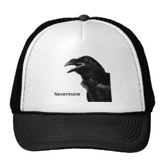 Nunca más cuervo gorra
