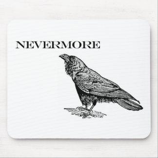 Nunca más cuervo alfombrillas de ratón