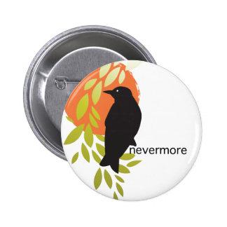 Nunca más - cuervo y luna por el Poe Pin