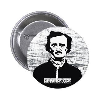 Nunca más Edgar Allan Poe Pin