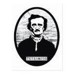 Nunca más Edgar Allan Poe Postal