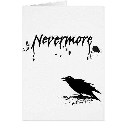 Nunca más tarjeta