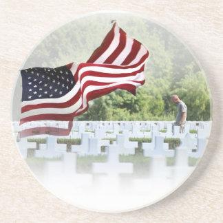 Nunca olvidado - Memorial Day Posavasos Personalizados