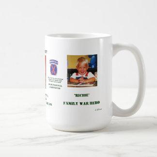 Nunca olvidado taza